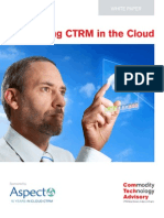 Evolving CTRM in the Cloud