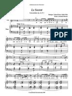 IMSLP129956-WIMA.2350-Faure Op.23no3 Le Secret
