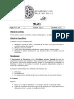 Syllabus Mat 264