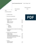 Escala de Evaluación Motora Oral (Xavier, C.)