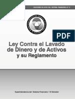 Ley Contra Lavado de El Salvador