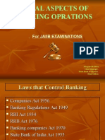 Legal Aspects of Banking Oprations
