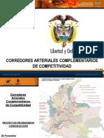 Corredores Competitividad Colombia - Rutas y Avances