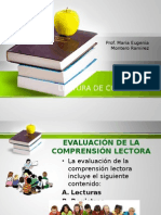 Lectura de Comprension
