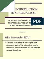 Anesthesia ICU