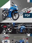 Suzuki Gixxer SF Brochure