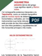 Taquimetria (1)