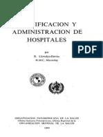 Planificacion de Hospitales