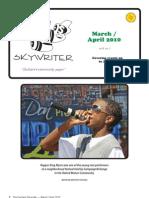 Durham Skywriter March/April 2010