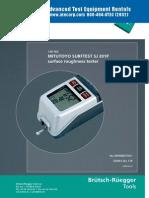 Mitutoyo SJ 201P Manual