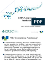 CREC Cooperative Purchasing
