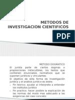 Metodos de Investigacion Cientificos