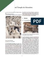 Second Temple de Jérusalem