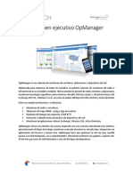 Descriptivo Técnico OpManager