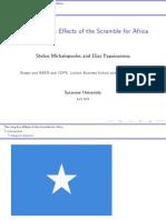 Africa Scramble Syracuse