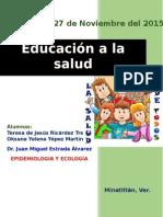 Educacion a La Población