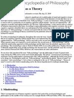 Folk Psychology as a Theory (Stanford Encyclopedia of Philosophy)