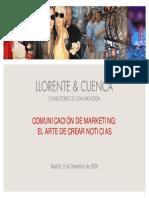 Comunicacion de Marketing