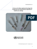 Injection Safety Guidline