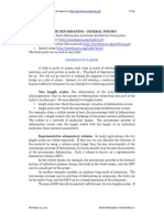 Finite Deformation General Theory