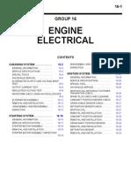 Grandis Engine Electrical