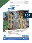 Présentation de l'Avap de la Ville de Marseille