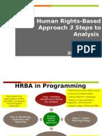 HRBA 3 Steps Presentation