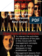 ANALYSIS OF aankhen