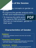 Gender Anaysis as Tool of Gender Mainstreaming27!06!2015