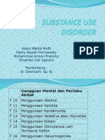 Substance Use Disorders