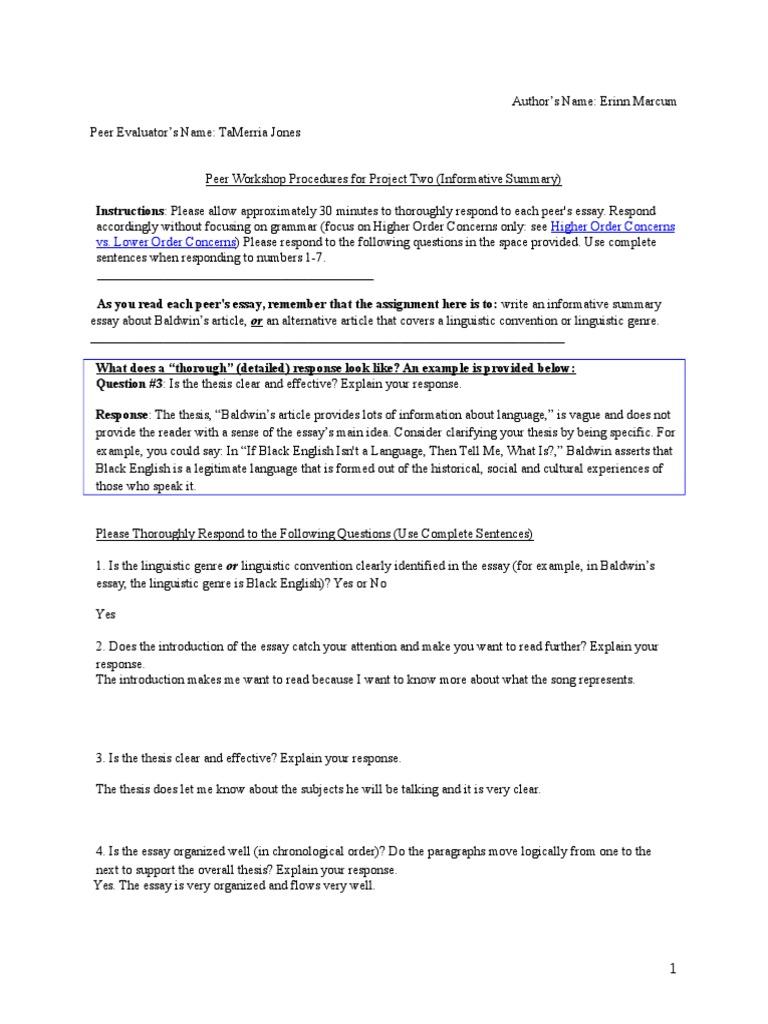 Erinn Peer Edit 1 Tumb Essays Linguistics