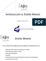 1.Introducción al Diseño Minero