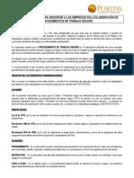 57 Consideraciones Para Elaborar PTS