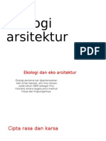 Ekologi arsitektur