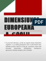 Dimensiunea Europeană a Școlii