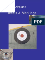 Model Airplane decals and markings