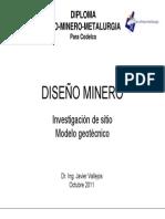 0-Investigación de sitio-Modelo Geotécnico