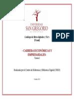 Catálogo Económicas y Empresariales v2