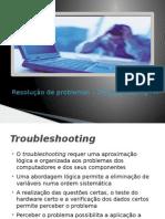 Resolução de Problemas - Troubleshooting