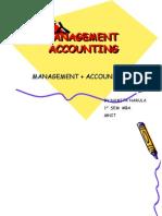 Basics of Management Accounting