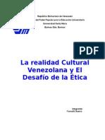 La Realidad Cultural Venezolana y El Desafío de La Ética