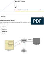 Creating a Login System in Servlet