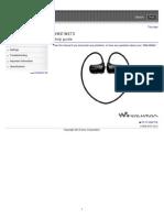 Walkman Sony NWZW273 Help Guide.pdf