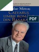 Calvarul Limbii Romane Din Basarabia