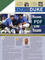 Working@Duke - April, 2010