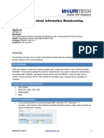 Sap Bw BroadCaster