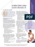 Pregnancy Nutrition Sp FP