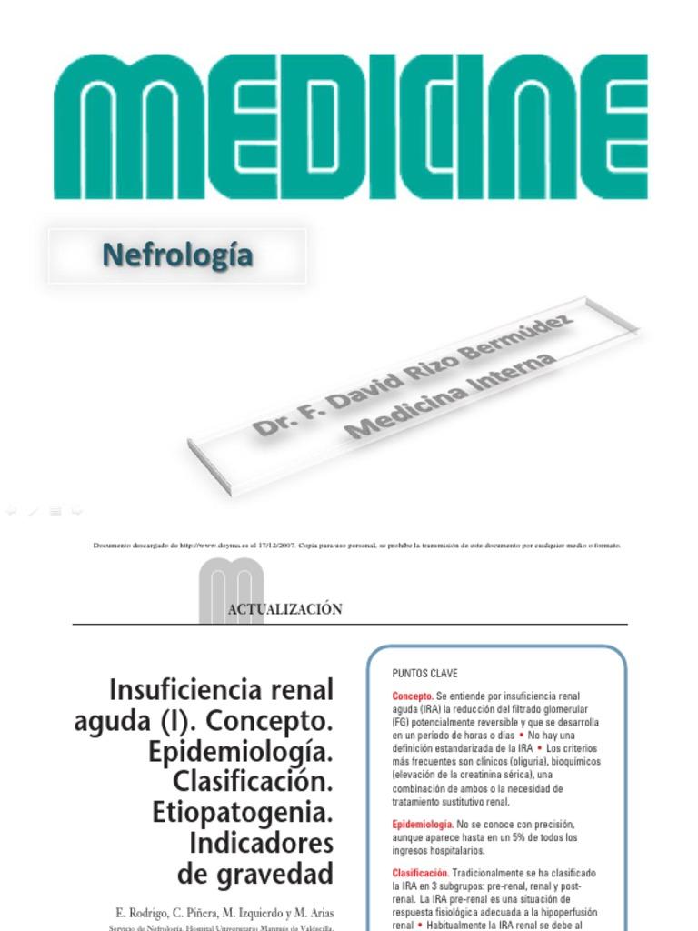 M Nefrología