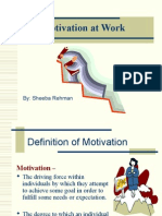 PPT of moivation