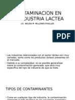 Contaminacion en La Industria Lactea